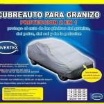 Funda Antigranizo / Refractiva rayos UV