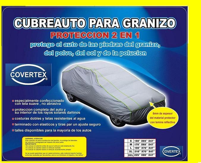 Covertex cubre auto para granizo5 - Fundas para auto ...