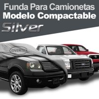 FUNDA CUBRE CAMIONETA COMPACTABLE SILVER – (PICK UP COVER)