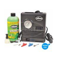 KIT Repara Pinchaduras Sellador + Compresor 12V – SLIME® (llanta normal *)